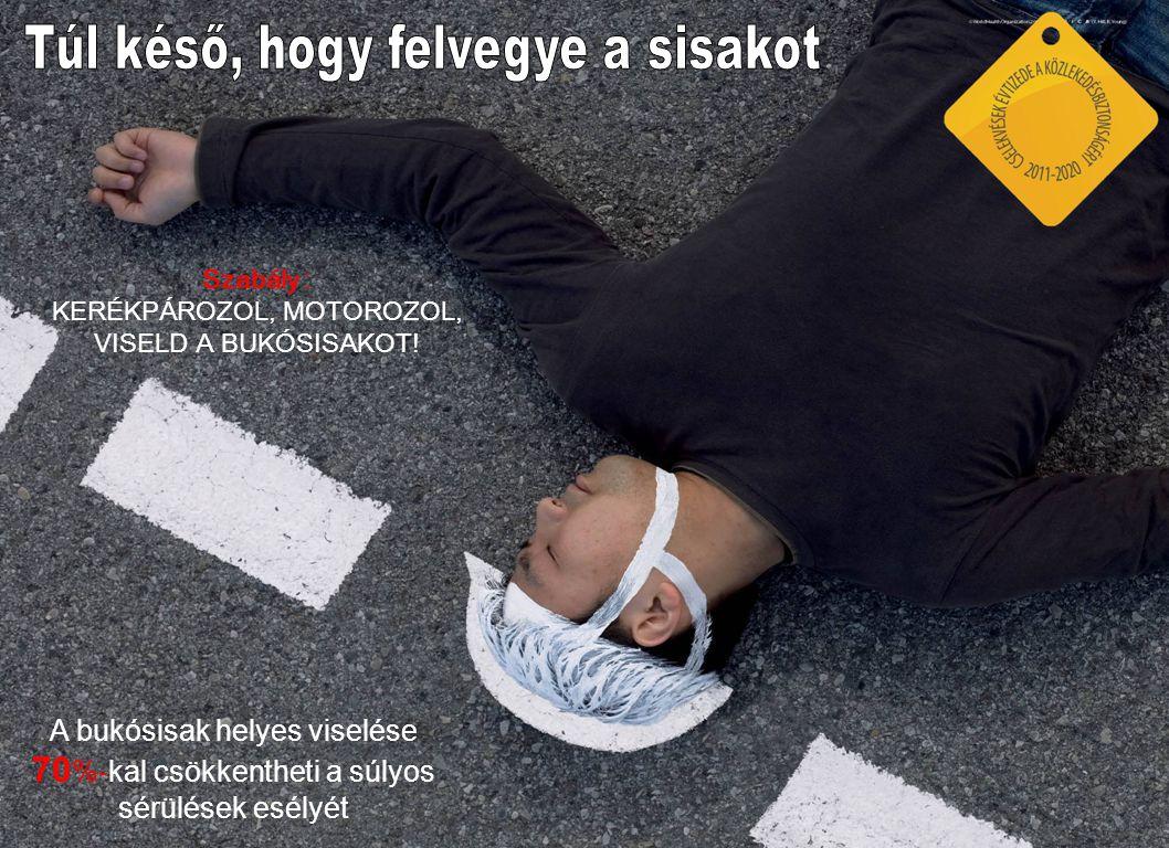 Az alkoholfogyasztás tiltása és annak betartatása 20%-kal csökkenti a halálos balesetek számát.