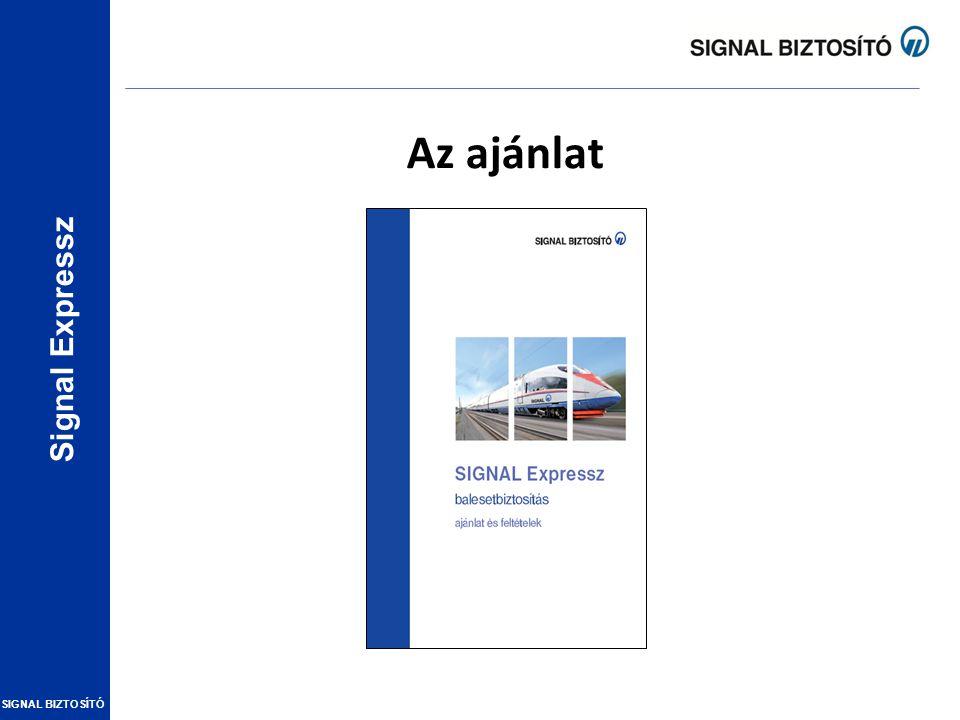 Signal Expressz SIGNAL BIZTOSÍTÓ Az ajánlat