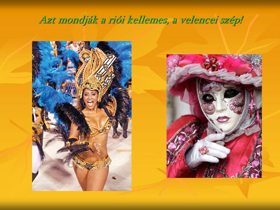Ó, a riói karnevál… Ó, riói karnevál és igazi brazil tánc, Megbűvöl, ha egyszer arra jársz, Örökké tart a nyár, és mindenki arra vár, Hogy kezdődjék az újabb karnevál. Ó, riói karnevál és igazi brazil tánc, Megbűvöl, ha egyszer arra jársz, Örökké tart a nyár, és mindenki arra vár, Hogy kezdődjék az újabb karnevál.