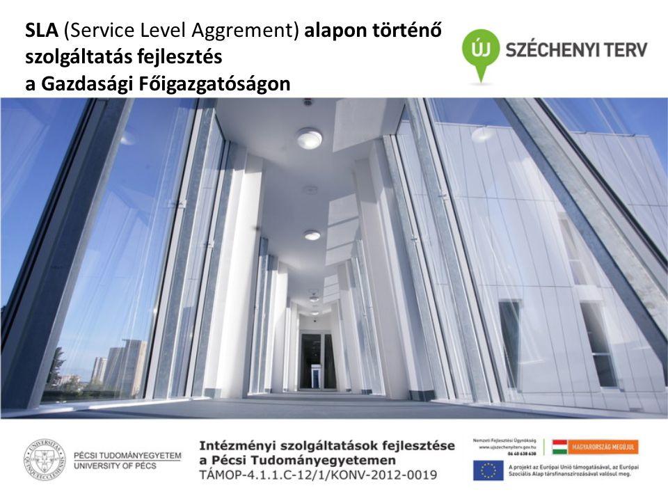SLA (Service Level Aggrement) alapon történő szolgáltatás fejlesztés a Gazdasági Főigazgatóságon