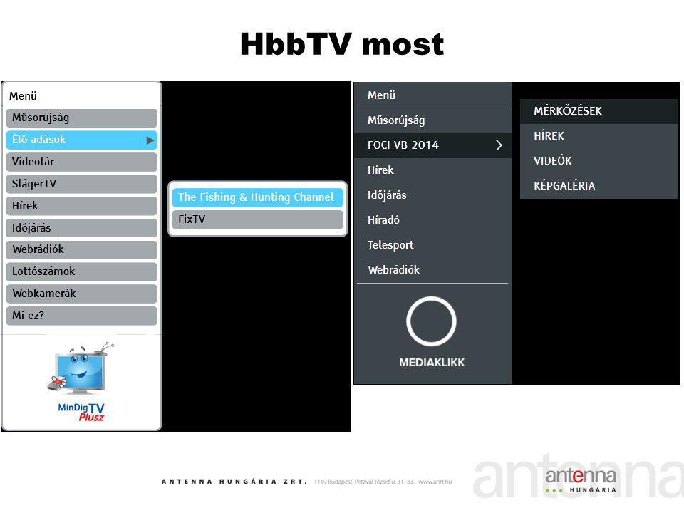 HbbTV most