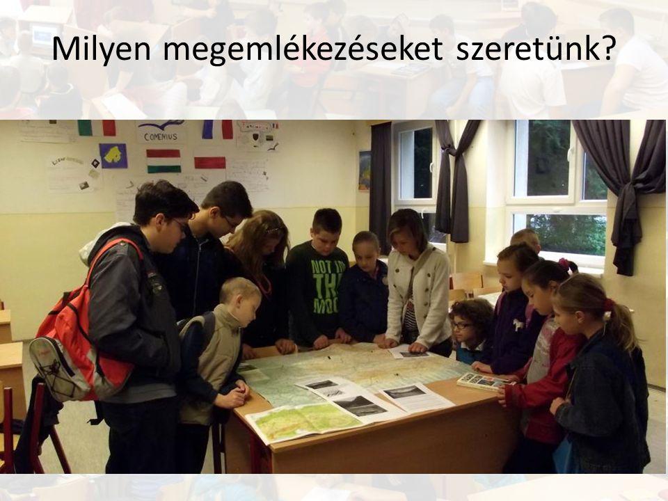 Prezentálás 1.Közös prezentáció, egyénekre lebontva 3.Projekt értékelése 2.Disszemináció