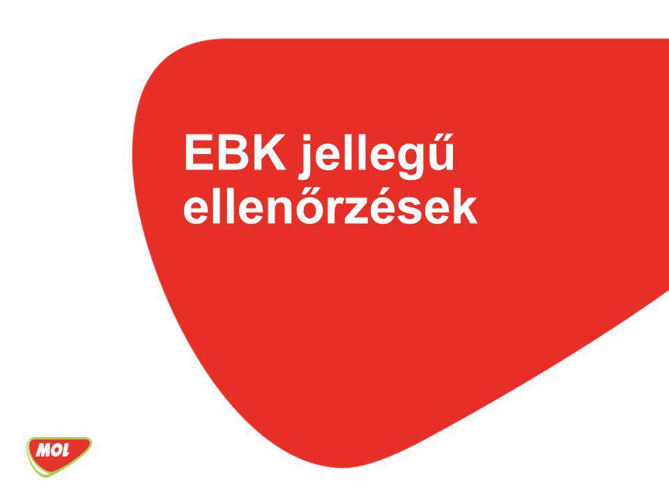 EBK jellegű ellenőrzések