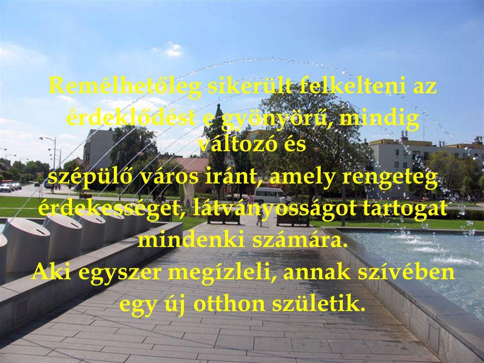 Felülnézetben a Vár, az Almássy kastély, Illetve a Várfürdő egy része.