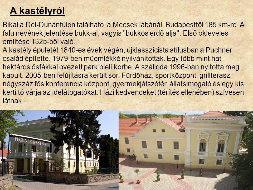 Bikal a Dél-Dunántúlon található, a Mecsek lábánál, Budapesttől 185 km-re.