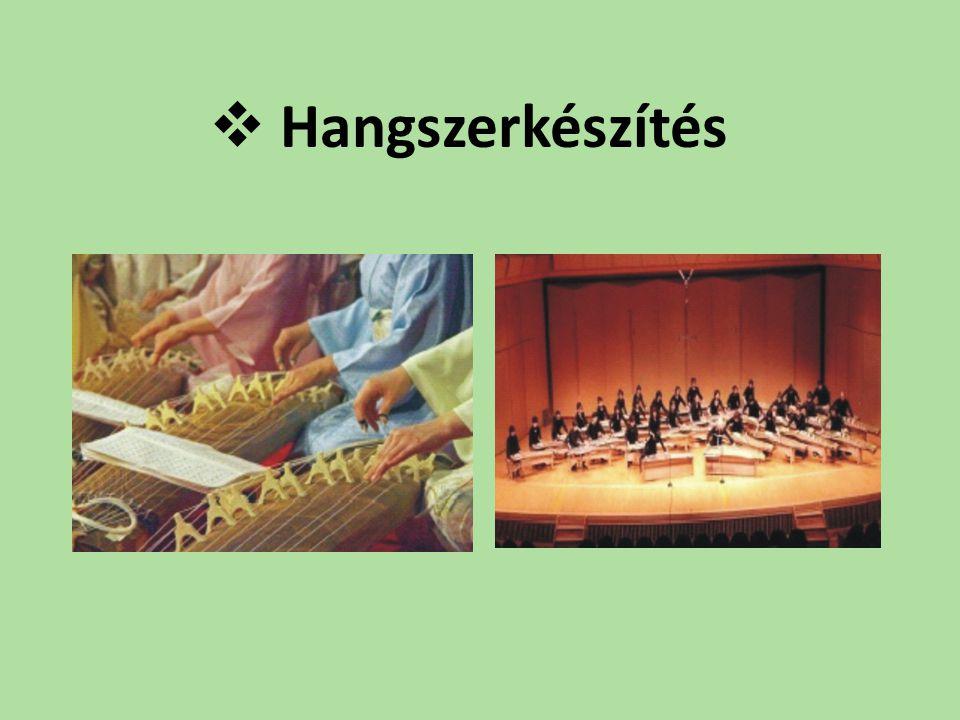  Hangszerkészítés