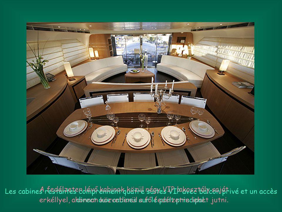 Le super yacht sera en mesure d accueillir jusqu à 10 clients.