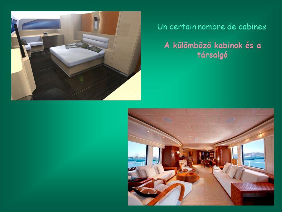 Les cabines restantes comprennent quatre suites VIP avec balcon privé et un accès direct aux cabines sur le pont principal.