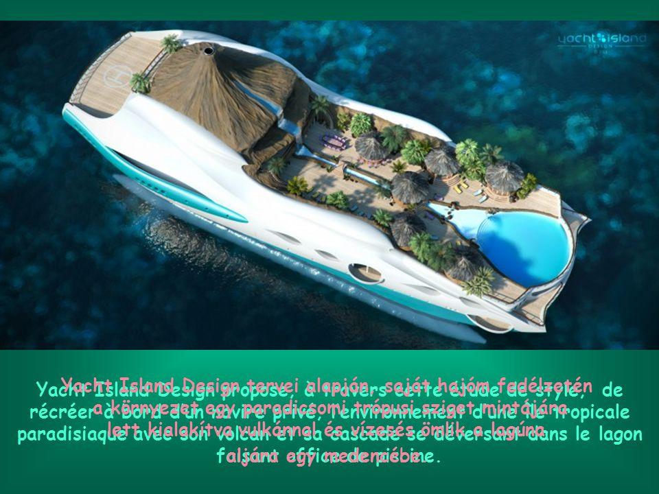 C'est les vacances .Partez en croisière sur une île tropicale flottante.