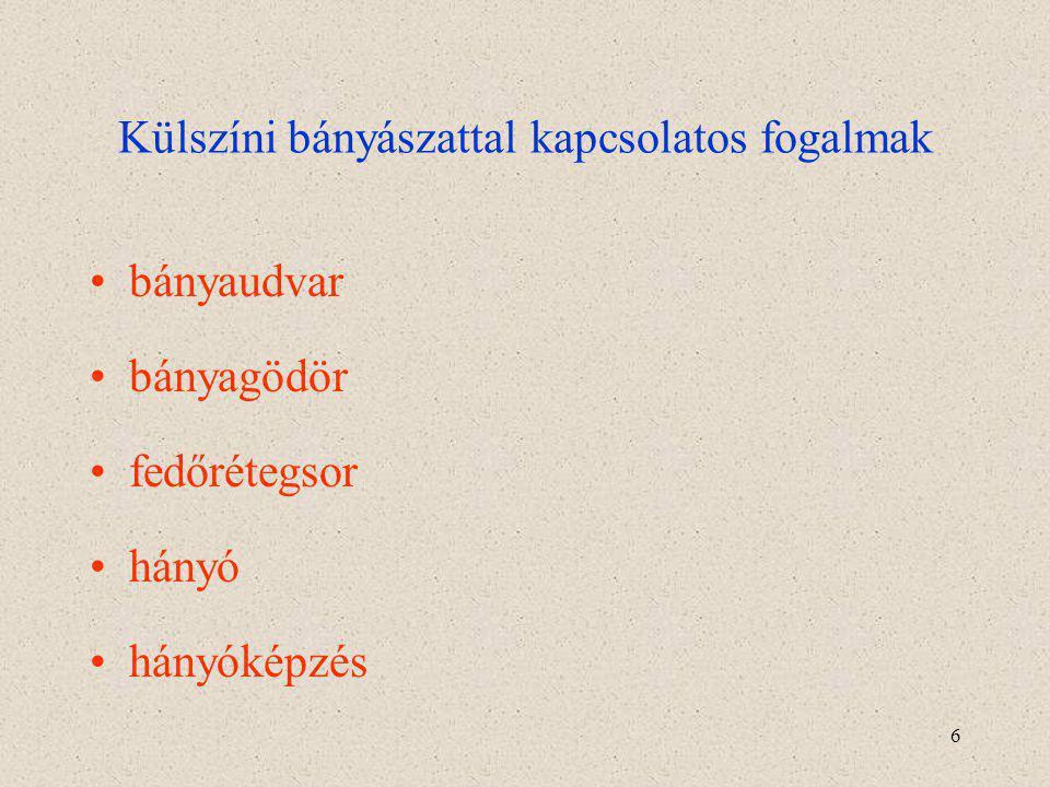 27 A bauxitot alkotó ásványok 4.