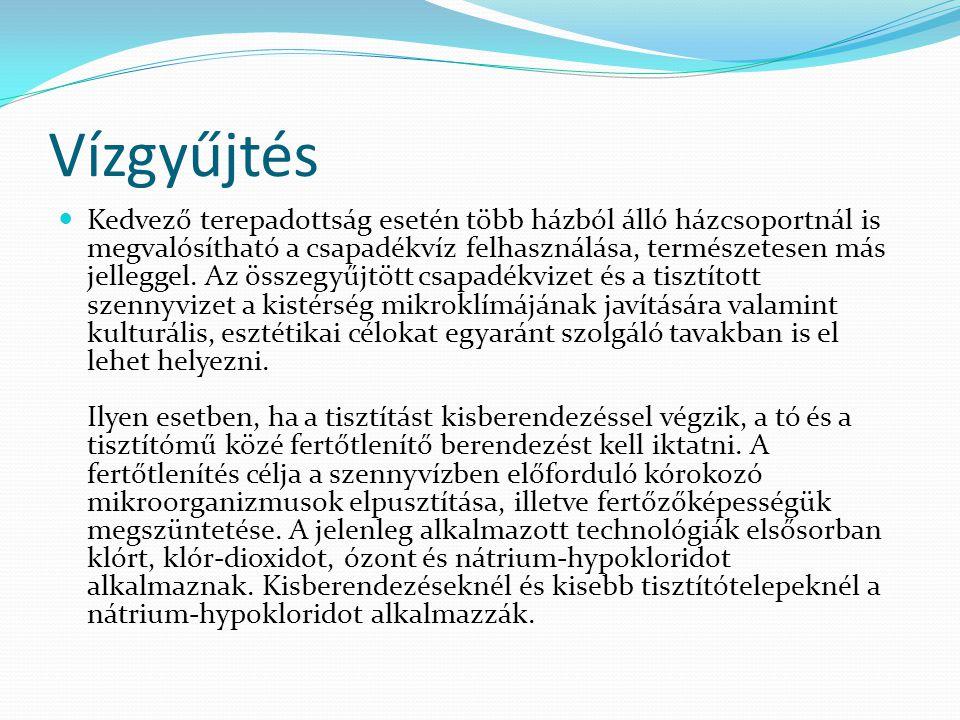 Jogszabályok A vízellátással, szennyvíz- és csapadékvíz-elvezetéssel számos jogszabály foglalkozik.