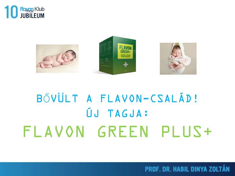 BŐVÜLT A FLAVON-CSALÁD! ÚJ TAGJA: FLAVON GREEN PLUS+ BOLDOG 10. SZÜLETÉSNAPOT!