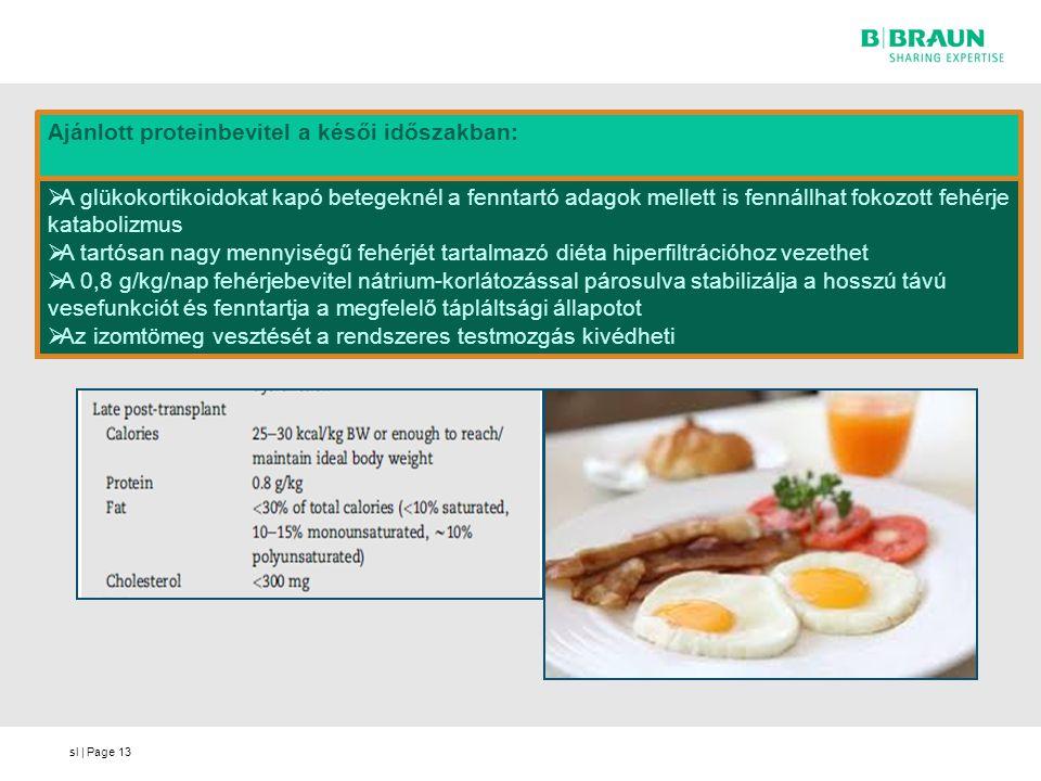 sl | Page13  A glükokortikoidokat kapó betegeknél a fenntartó adagok mellett is fennállhat fokozott fehérje katabolizmus  A tartósan nagy mennyiségű
