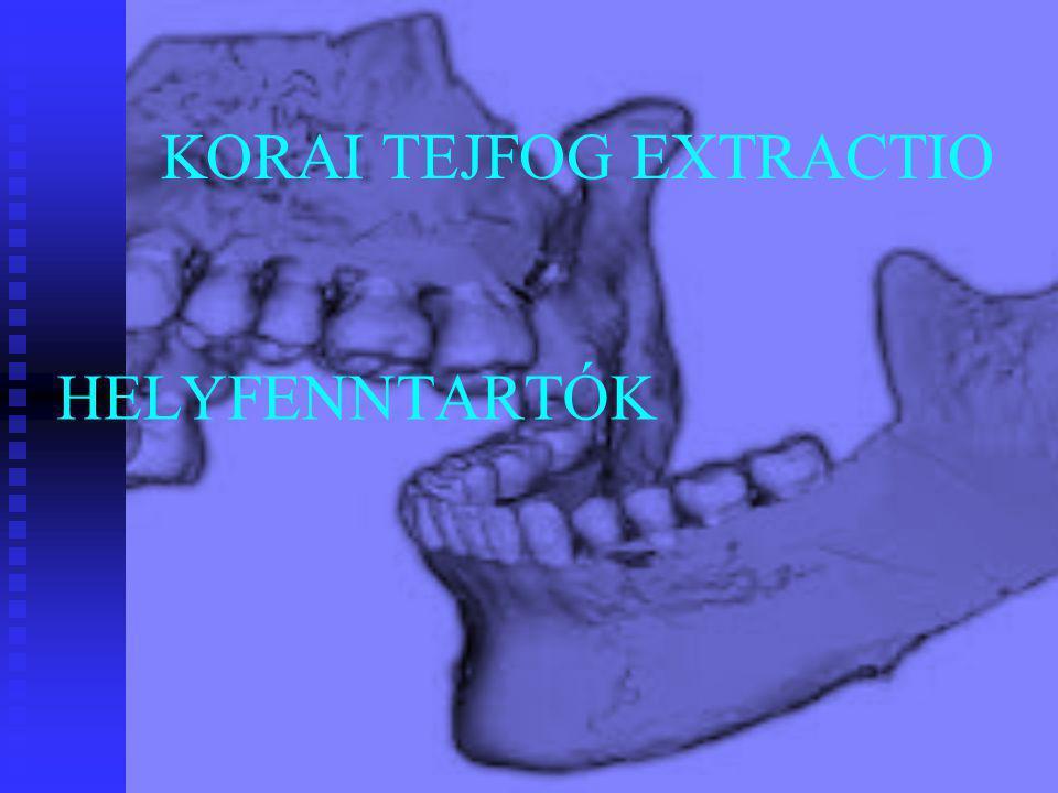 KORAI TEJFOG EXTRACTIO HELYFENNTARTÓK
