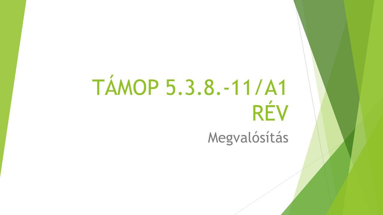 TÁMOP 5.3.8.-11/A1 RÉV Megvalósítás