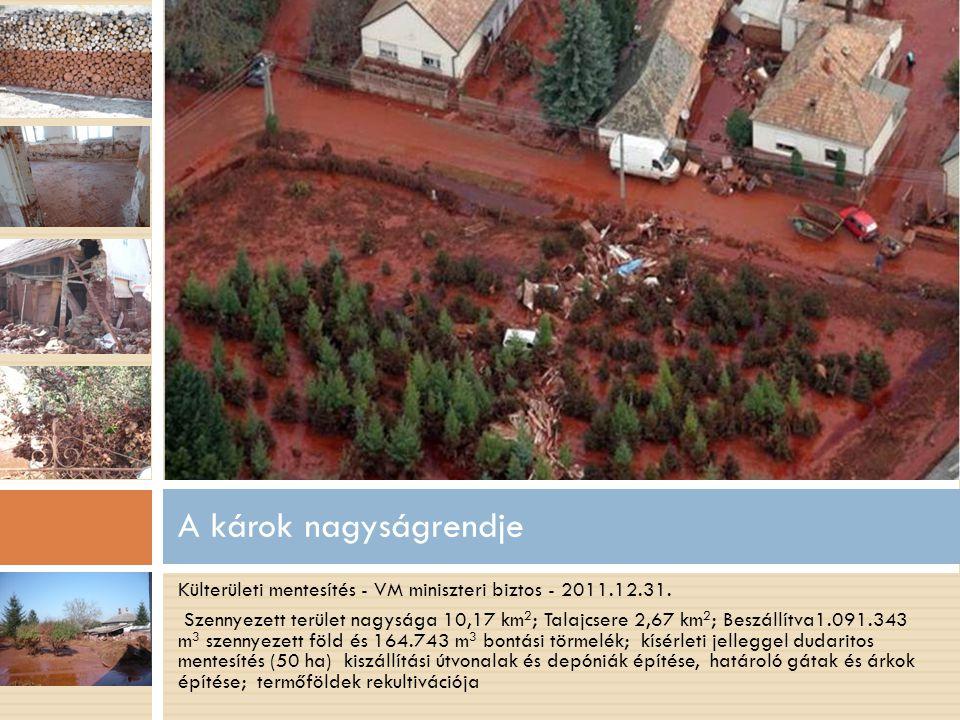 Külterületi mentesítés - VM miniszteri biztos - 2011.12.31.
