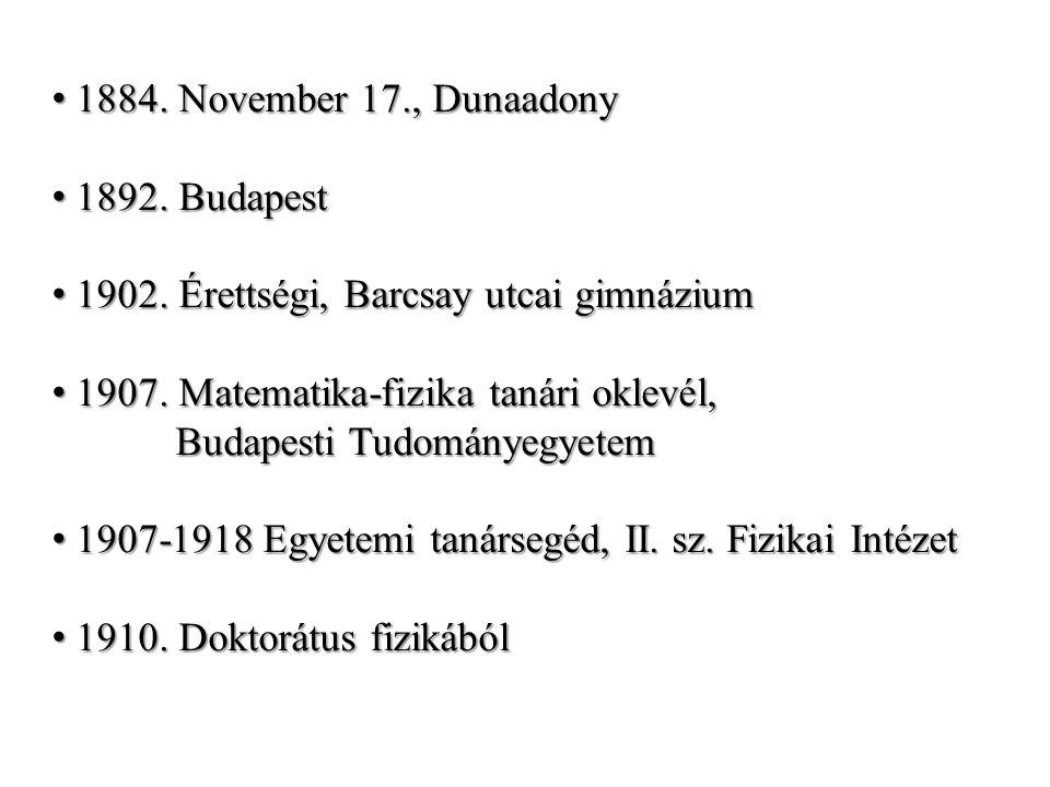 1884. November 17., Dunaadony 1884. November 17., Dunaadony 1892.