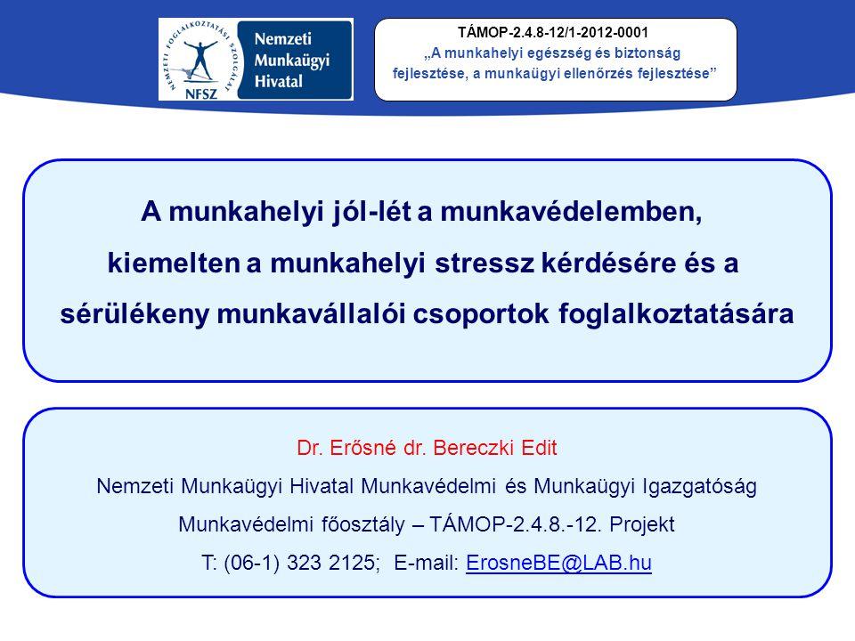 A munkavédelem szakterületei Munkavédelem MunkabiztonságMunkaegészségügy Munkahigiéne Foglalkozás- egészségügy Szociális munkavédelem