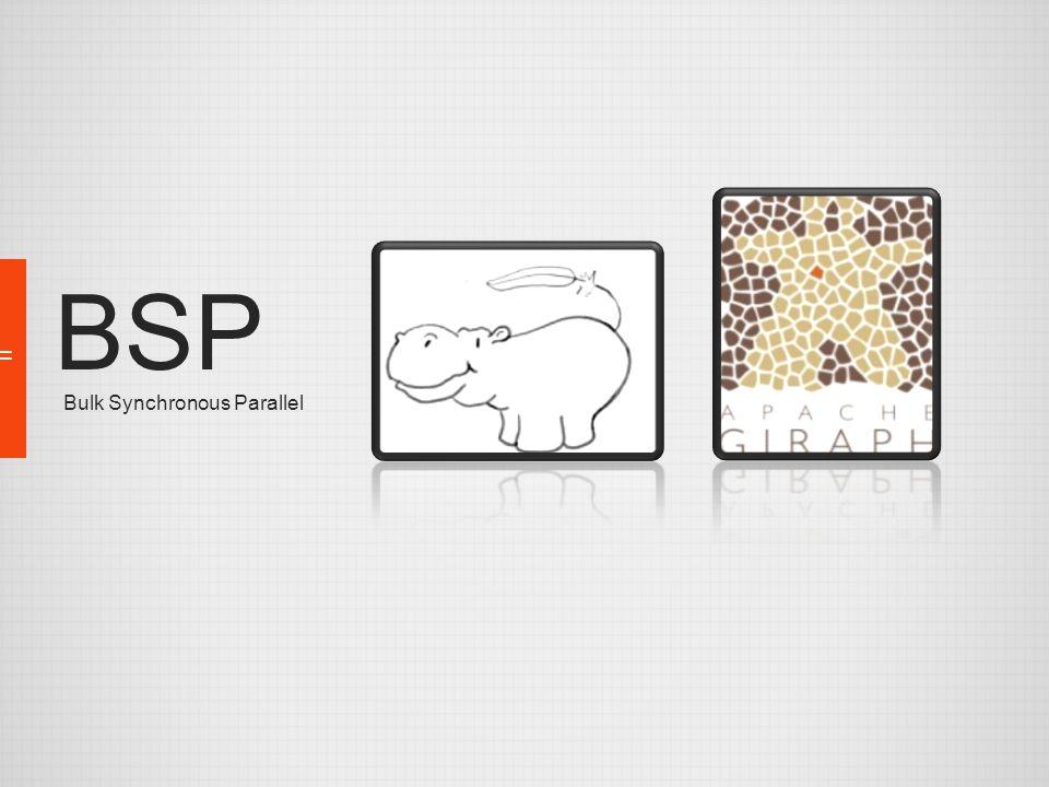 BSP Bulk Synchronous Parallel