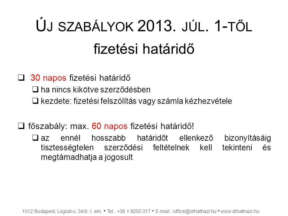 F ELSZÁMOLÁSI ELJÁRÁS  nem peres bírósági eljárás  feltételei, szabályai:  200.000,- Ft felett  hitelezők kielégítési sorrendje  költségtérítés 1012 Budapest, Logodi u.