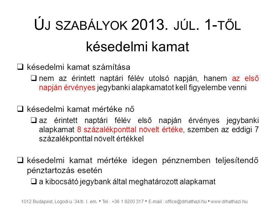 F ELSZÁMOLÁSI ELJÁRÁS Feltétel: Fizetési felszólításnak tartalmaznia kell legalább  a követelés jogcímét, összegét, megfizetésének határidejét  meg kell határozni azt a végső határidőt, amely után megindítják a felszámolási eljárást 1012 Budapest, Logodi u.