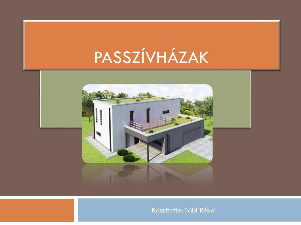 Forrás: Wikipédia – passzív ház címszó Az első passzívház Az első passzívház 1990-ben épült a németországi Darmstadtban.