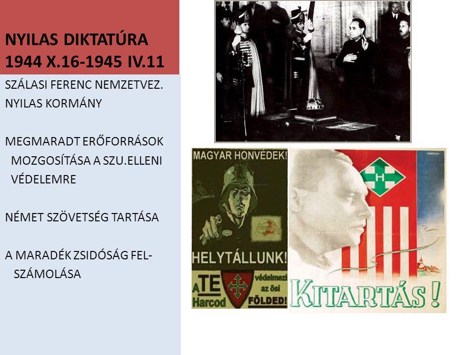 MAGYARORSZÁG ELFOGLALÁSA 1944 AUG./SZEPT.