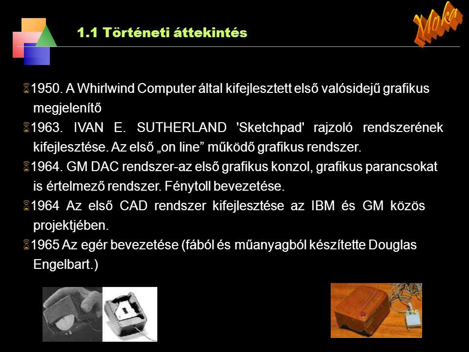 2.Alapvető rasztergrafikai algoritmusok 2.4.