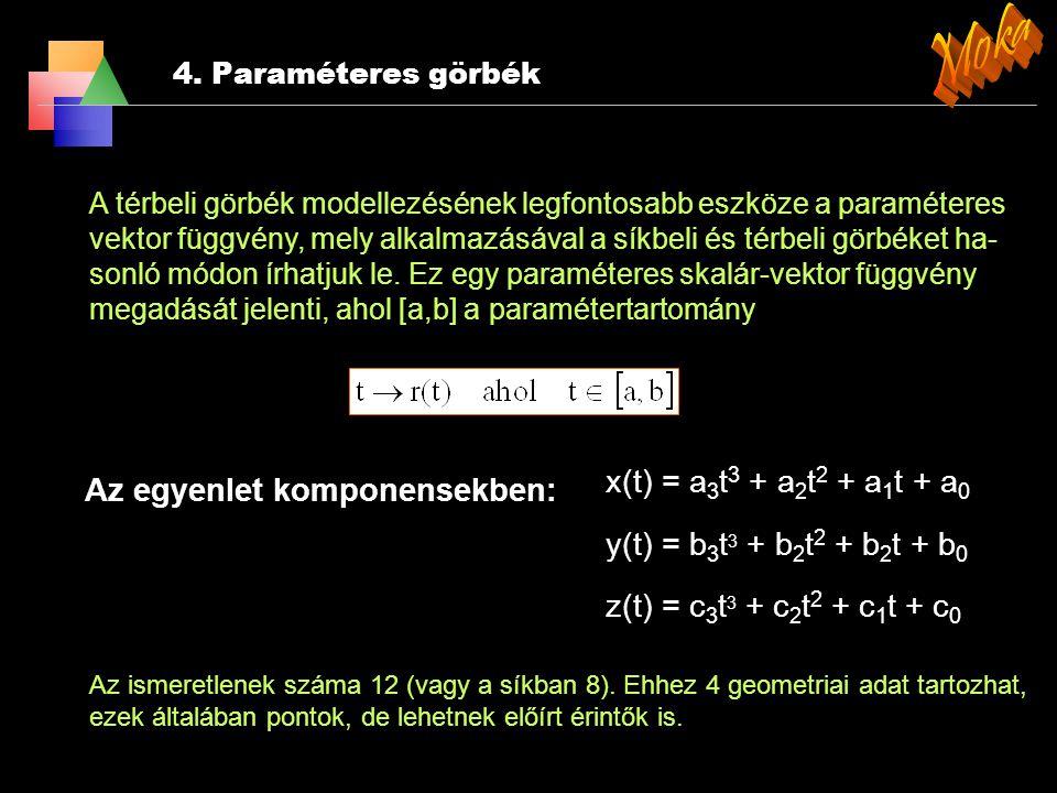 3. Transzformációk 3.4 Koordináta transzformáció A 3D-s euklideszi térben egy K koordináta-rendszerről egy K' koordi- nátarendszerre kívánunk áttérni.