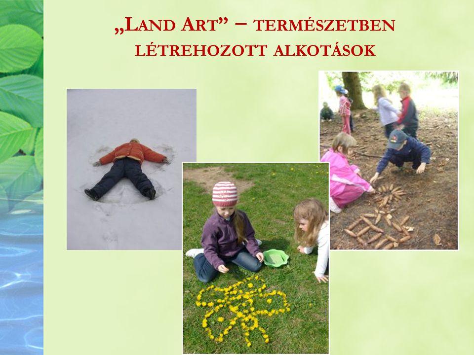 """""""L AND A RT − TERMÉSZETBEN LÉTREHOZOTT ALKOTÁSOK"""