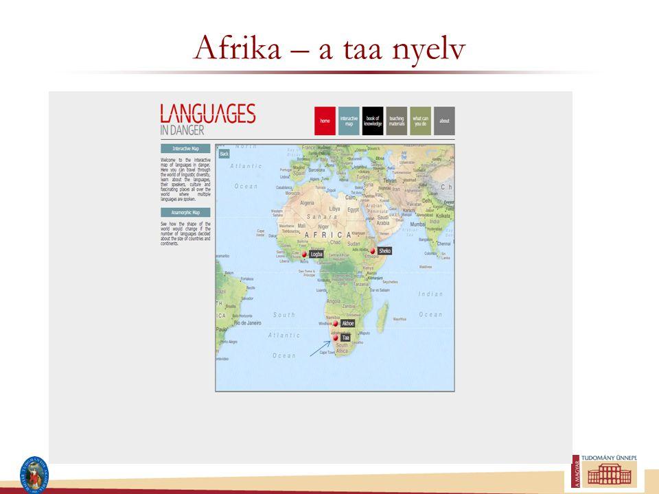 Afrika – a taa nyelv