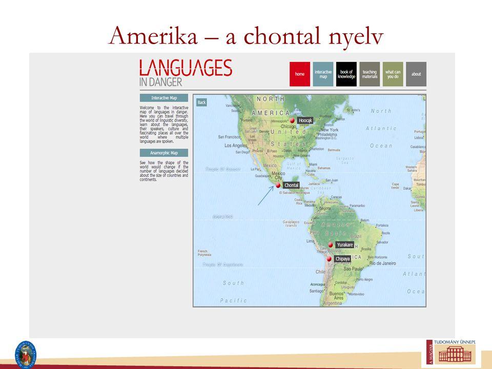 Amerika – a chontal nyelv