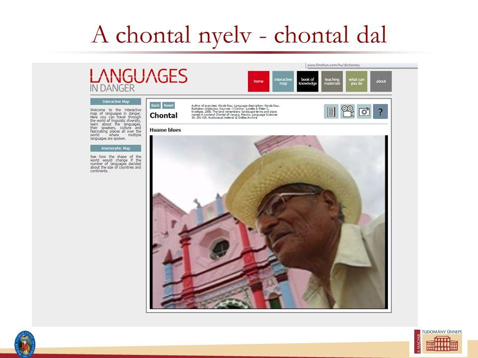 A chontal nyelv - chontal dal
