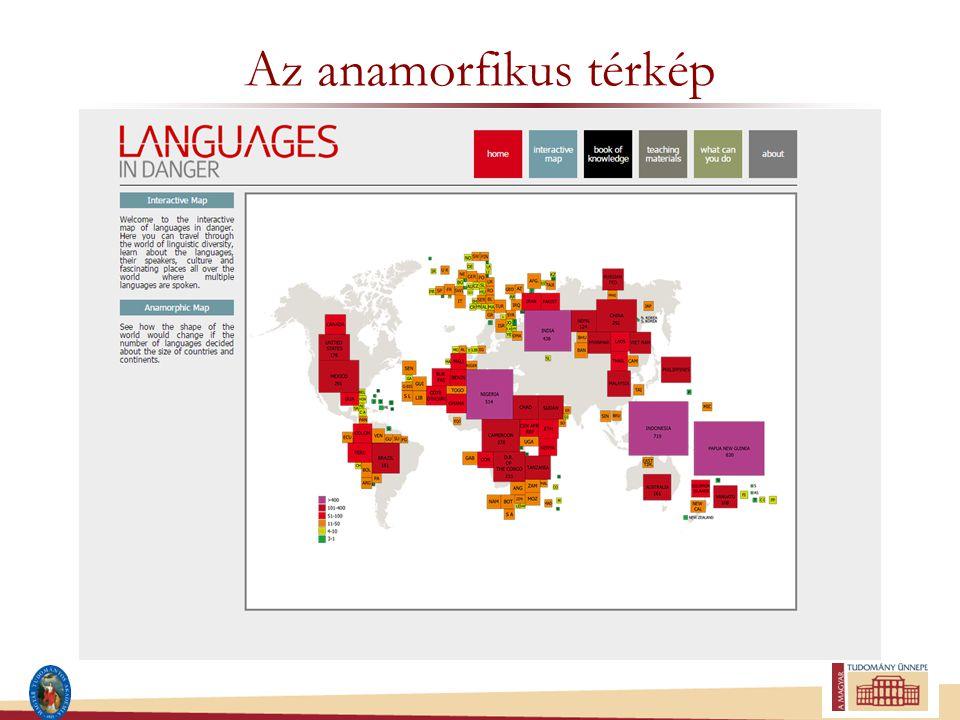 Az anamorfikus térkép