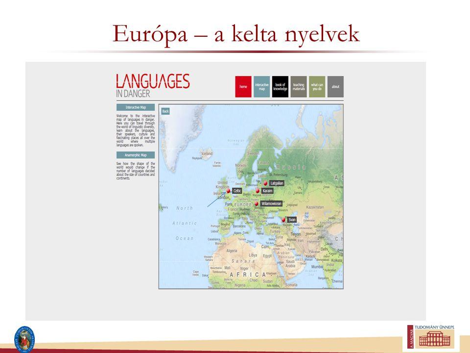 Európa – a kelta nyelvek
