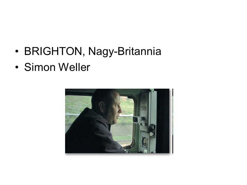 BRIGHTON, Nagy-Britannia Simon Weller