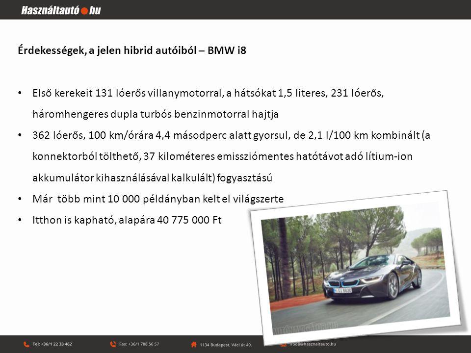 """Érdekességek, a jelen hibrid autóiból – Mitsubishi Outlander PHEV Két villanymotoros Állandó összkerékhajtású Fedélzeti """"áramfejlesztő Atkinson ciklusú motoros 52 km elektromos, több mint 500 km kombinált hatótáv, hazai alapár: 12 490 000 Ft"""
