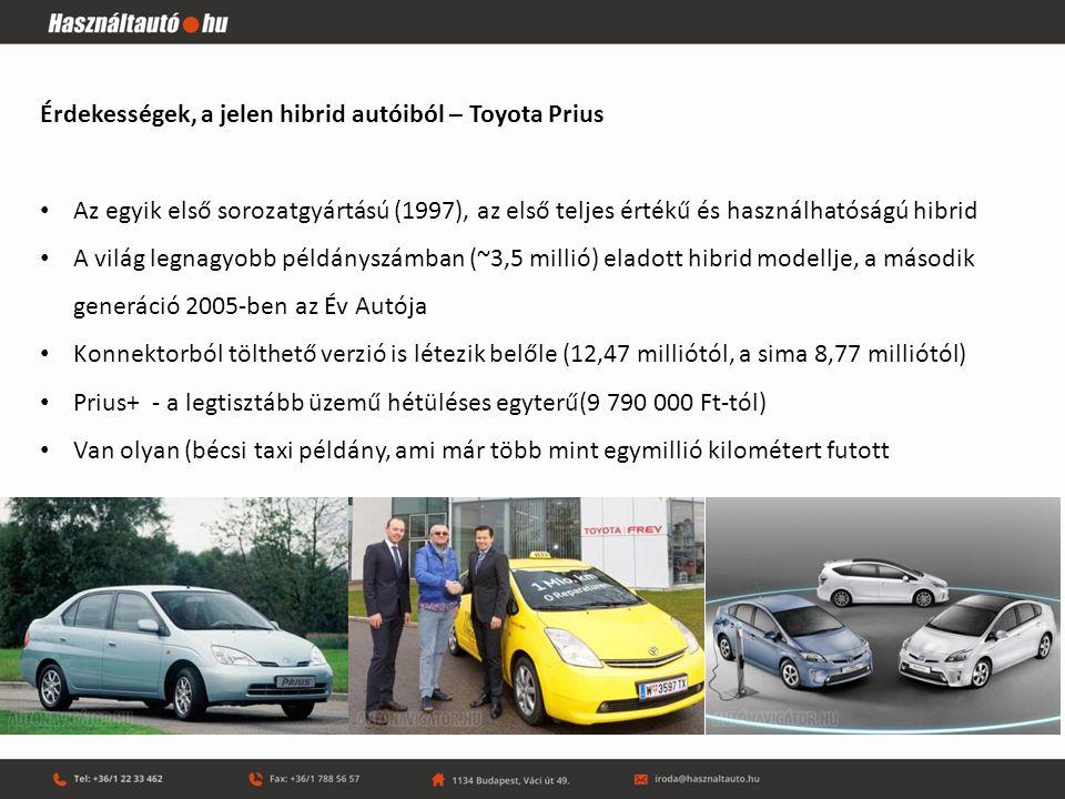 Milyenek lesznek a jövő hibrid autói.