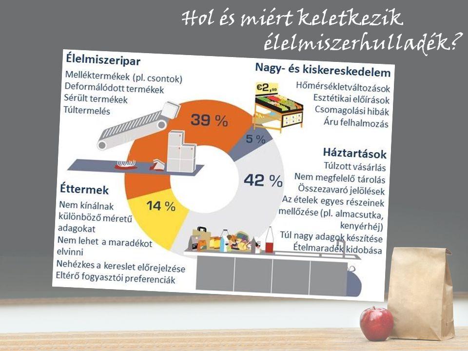 Hol és miért keletkezik élelmiszerhulladék?