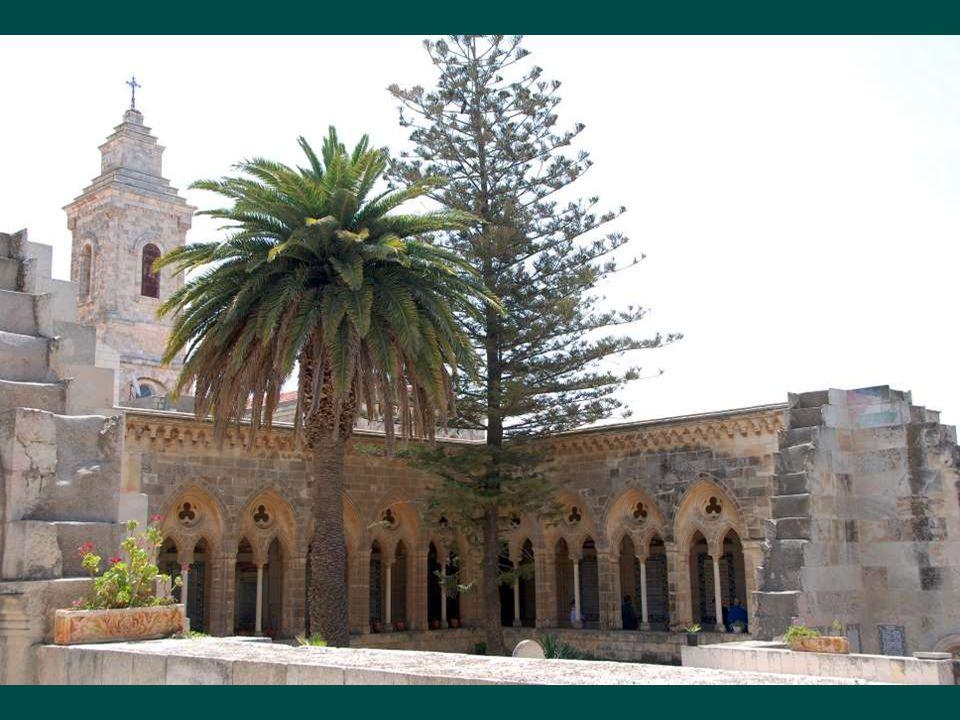 Kilátás a templomkertből Jeruzsálem óvárosára