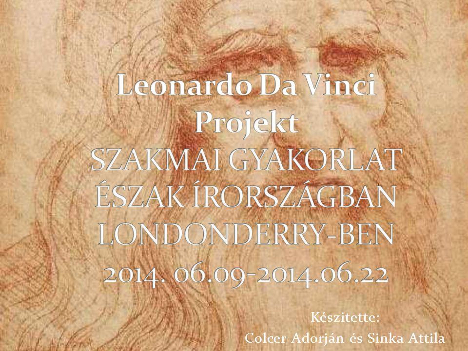 Készitette: Colcer Adorján és Sinka Attila