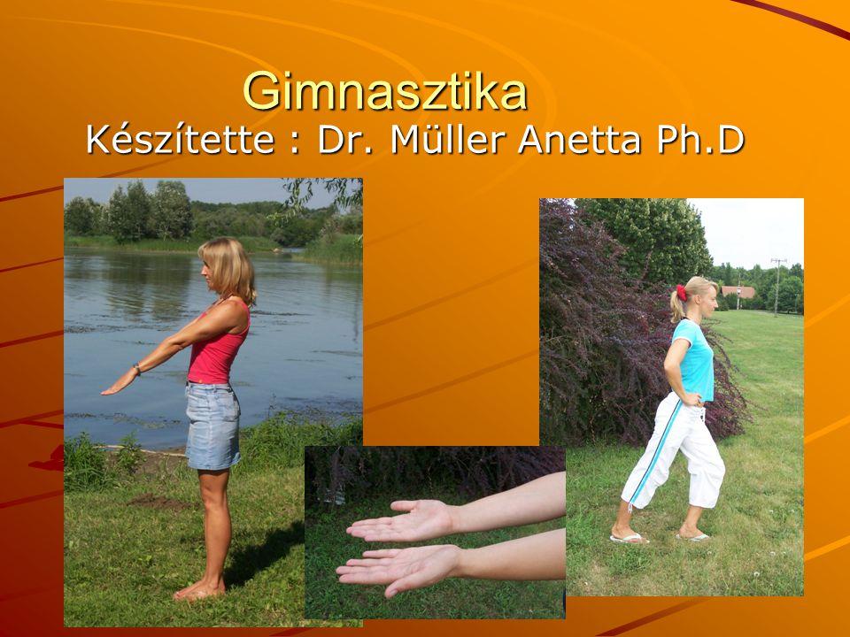 Gimnasztika Készítette : Dr. Müller Anetta Ph.D