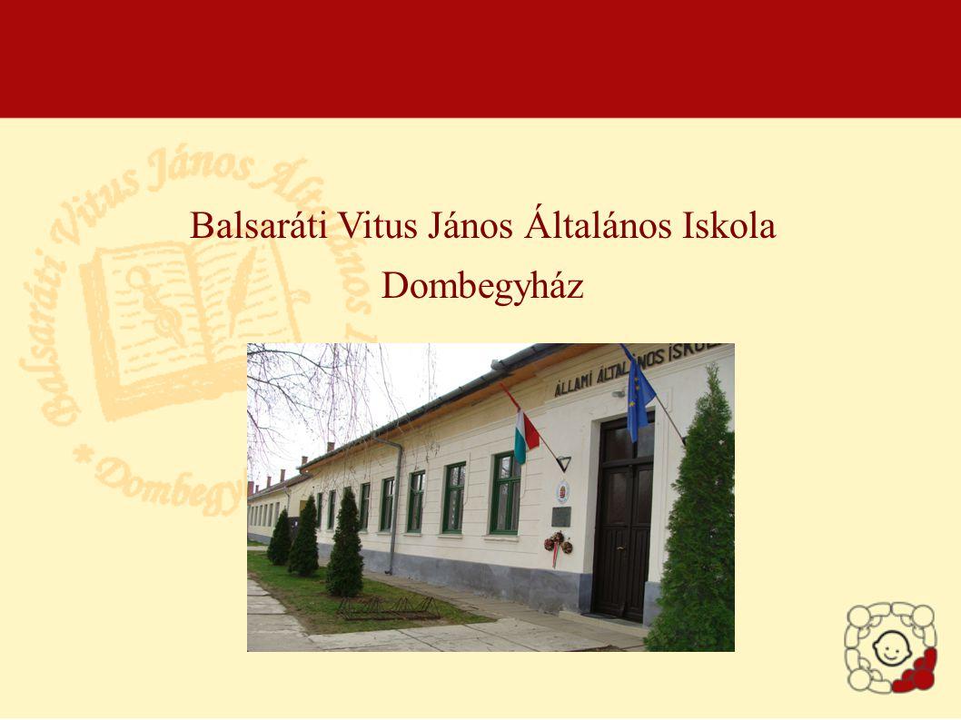 Balsaráti Vitus János Általános Iskola Dombegyház