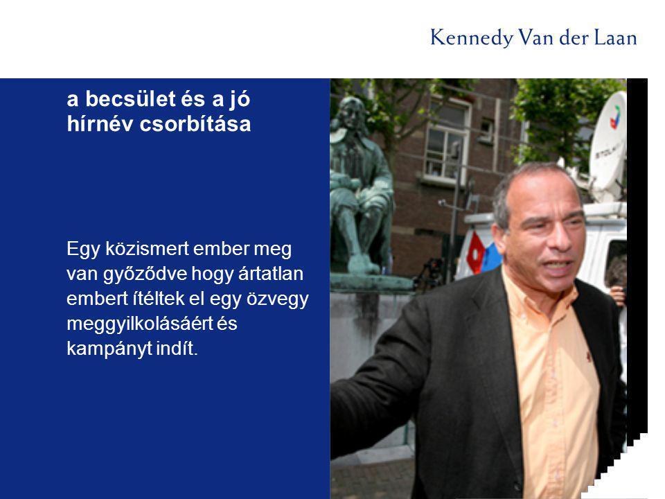 Egy közismert ember meg van győződve hogy ártatlan embert ítéltek el egy özvegy meggyilkolásáért és kampányt indít.