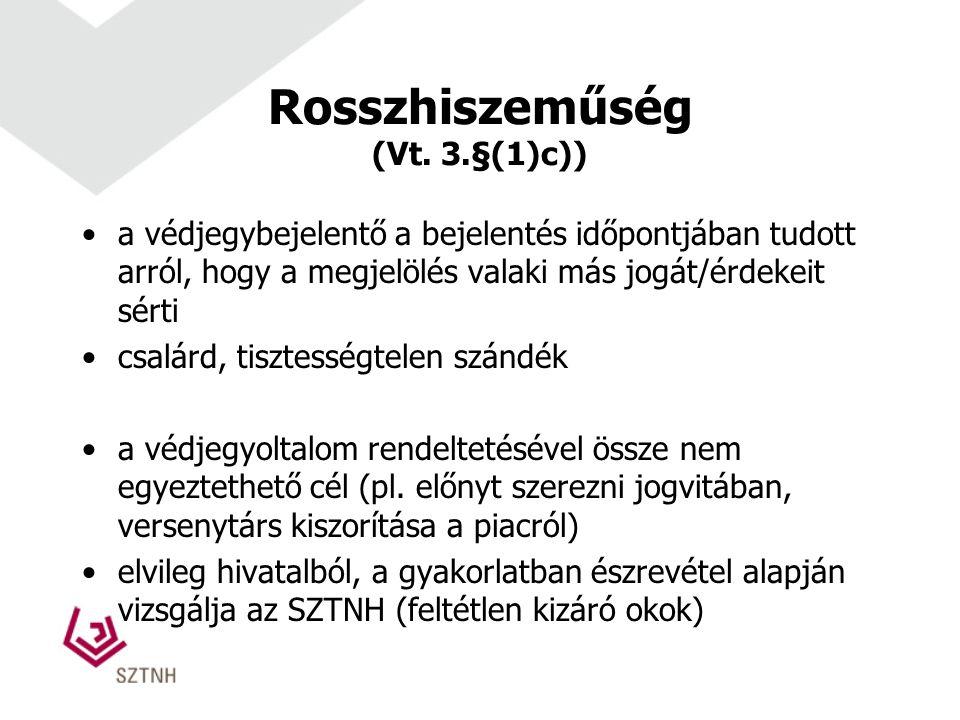 Rosszhiszeműség (Vt.
