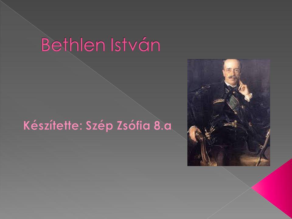  Édesapja Bethlen István gróf, édesanyja széki Teleki Ilona grófnő volt.