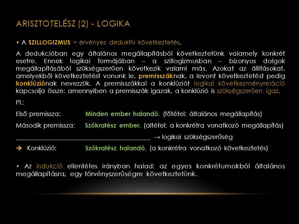KLASSZIKUS GÖRÖG FILOZÓFIA III.