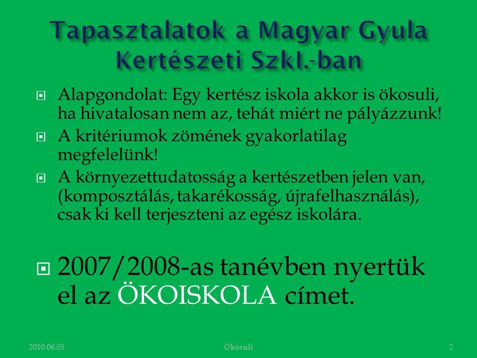 Hajnal Sándor 1Ökosuli2010.06.05