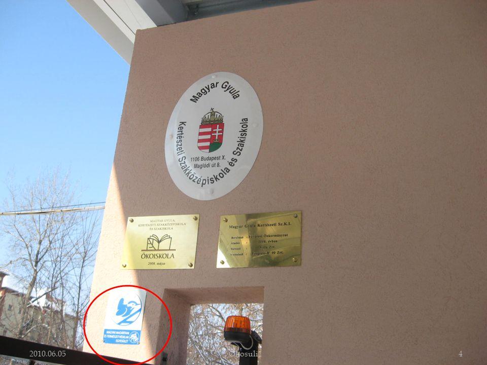  Tanáraink rendszeresen előadást tartanak a Kispesti Kertbarát Klubban.