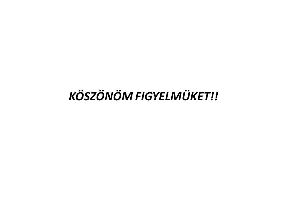 KÖSZÖNÖM FIGYELMÜKET!!